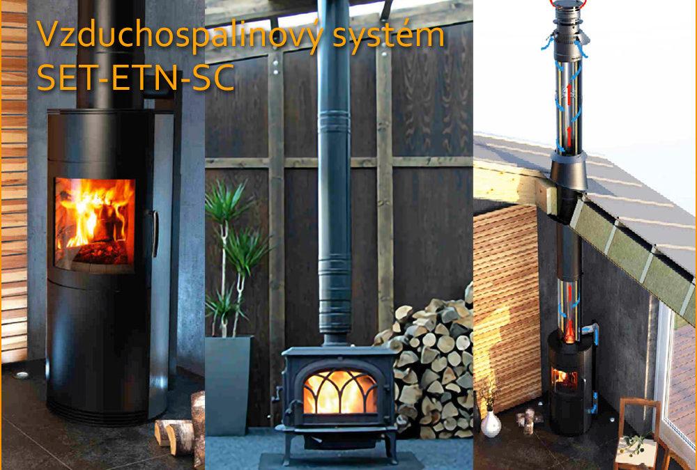 Novinka Vzduchospalinový systém SET-ETN-SC
