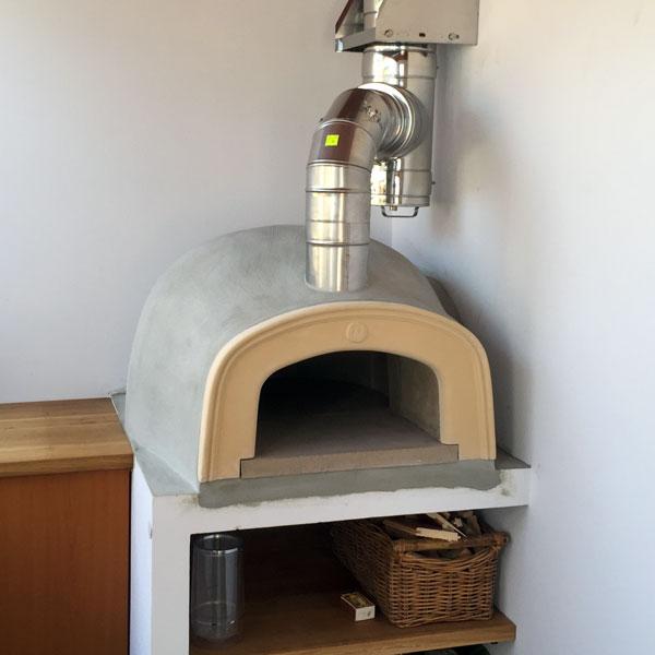 montáž pece komínové konstrukce