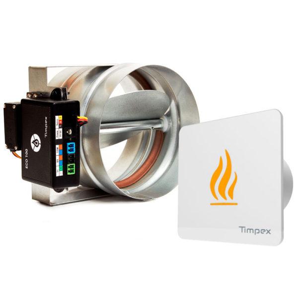 Automatická regulace hoření Timpex ECO 100