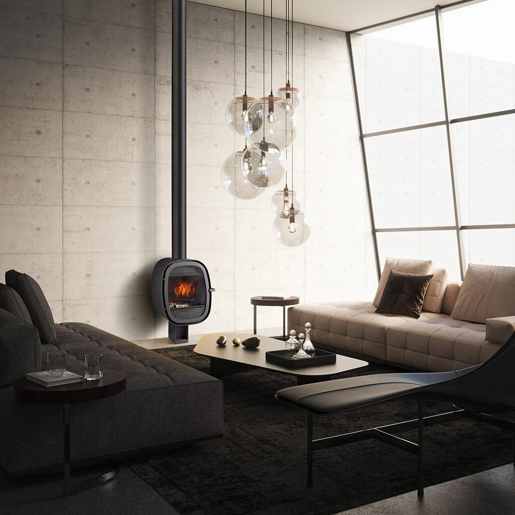 Designový krb Oval