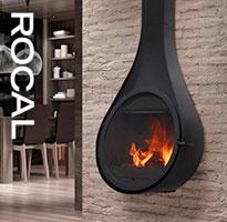 Designové krby Rocal